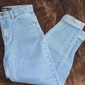 Princess polly high waisted jeans